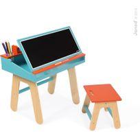 Janod - Bureau d'écolier Orange et Bleu