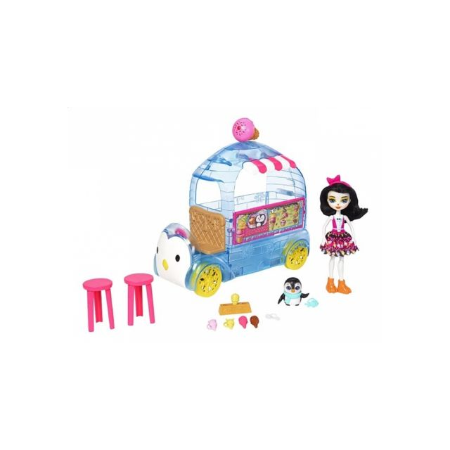 mattel enchantimals camion de glace pas cher achat vente v tements de poup es rueducommerce. Black Bedroom Furniture Sets. Home Design Ideas