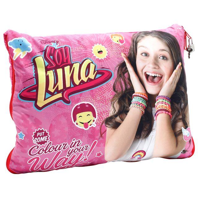 SOY LUNA Coussin Secret - YLU25 Soy Luna - Coussin Secret,Garde tous tes secrets dans ton coussin secret Soy Luna!