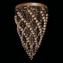 Chiaro - Plafonnier Crystal Doré 8x50W 384013708