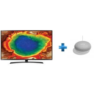 lg tv led 43 39 39 108cm 43uj635v enceinte intelligente google home mini pas cher achat. Black Bedroom Furniture Sets. Home Design Ideas
