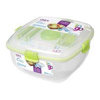 SISTEMA - Boîte Aliment carrée à clips Chi