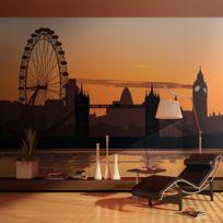 Bimago - A1-LFTNT1114 - Papier peint - Vue sur The London Eye 250x193