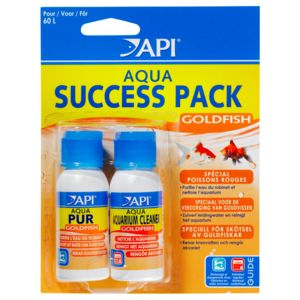 Rena Api - Lot Conditionneur d'Eau Aqua Goldfish Succes Pack pour 60L