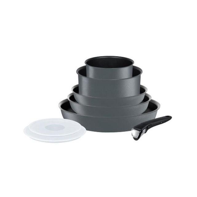 tefal ingenio performance batterie de cuisine 8 pieces l6589402 16 20 22 24 28cm tous feux. Black Bedroom Furniture Sets. Home Design Ideas
