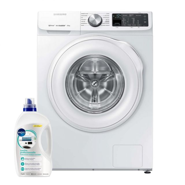 Samsung Lave-linge Frontal 8kg A+++ 1400trs/min tambour 55L EcoBubble Machine à laver hublot