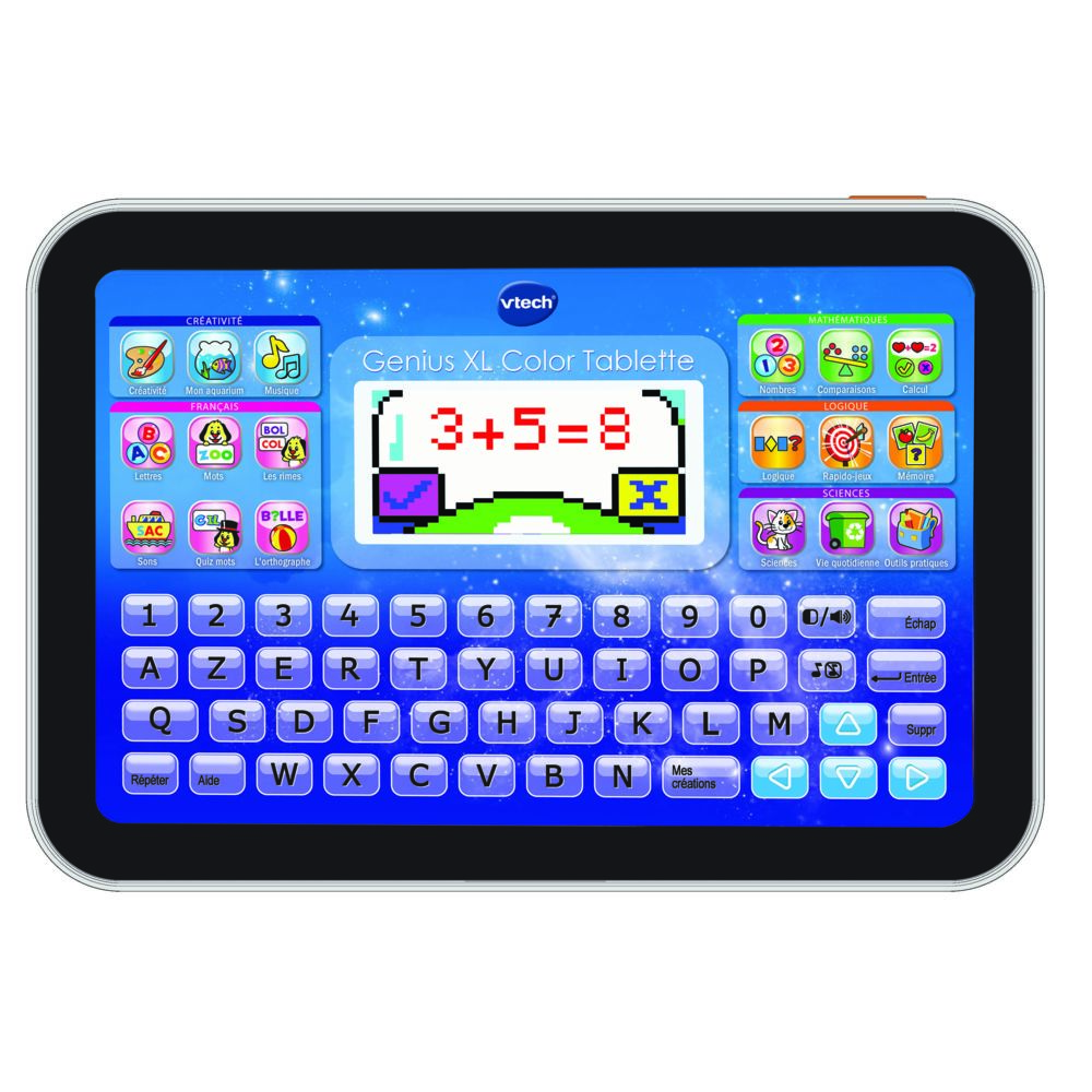 VTECH - Genius XL Color Tablette noire
