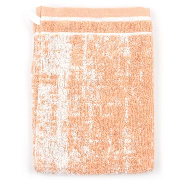 linnea gant de toilette 16x21 cm 100 coton 500 g m2 tosca classique orange multicolore pas. Black Bedroom Furniture Sets. Home Design Ideas