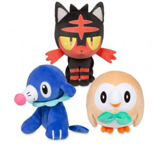 pok mon pack peluches pokemon soleil lune pas cher achat vente personnages rueducommerce. Black Bedroom Furniture Sets. Home Design Ideas