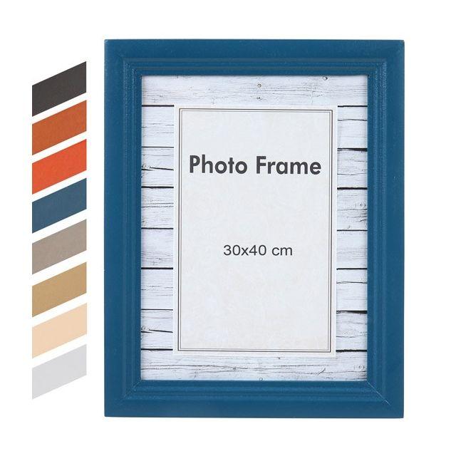 jago cadre photo 30 x 40 cm 8 coloris bleu pas cher achat vente cadres p le m le. Black Bedroom Furniture Sets. Home Design Ideas