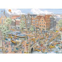 Ravensburg - Puzzle 1000 pièces : Amsterdam, Fleroux