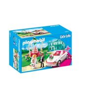 PLAYMOBIL - Starter Set Couple de mariés avec voiture - 6871