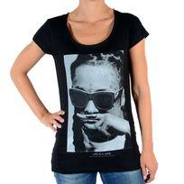 Eleven Paris - Tee Shirt Lily W Lil Wayne Noir
