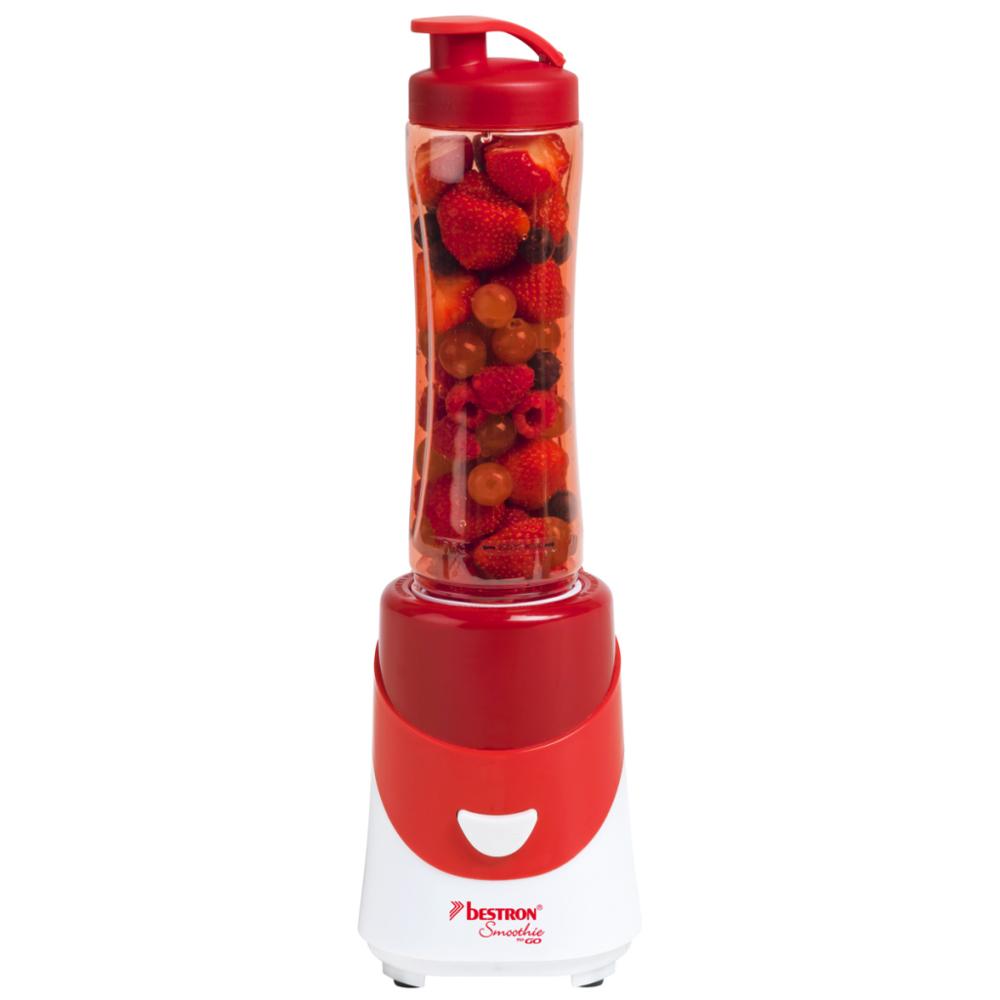 Bestron - Appareil à smoothie rouge Asm250R