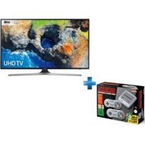 Samsung - TV LED 55'' - 55MU6125 + Nintendo Classic Mini : Super NintendoTM Entertainment System