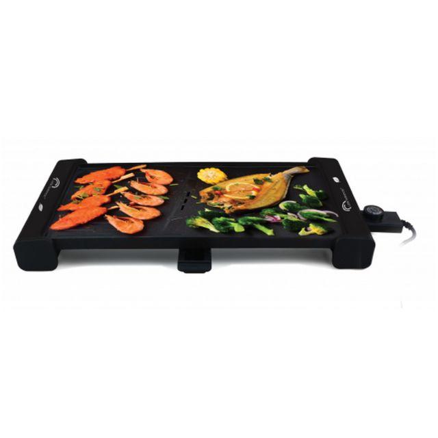 LITTLE BALANCE plancha gril électrique 2100w 51.5x30cm - 8233