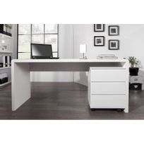 Chloe Design - Bureau design Fatio - blanc - 160