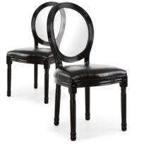 Chaise louis xvi moderne achat chaise louis xvi moderne pas cher rue du commerce - Chaise style louis xvi moderne ...