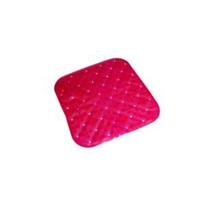 carrefour tapis de douche antid rapant plastique 53 x 53 cm rose 9911305 pas cher. Black Bedroom Furniture Sets. Home Design Ideas