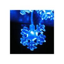 Millumine - Guirlande Lumineuse Bleue Etoile des Neiges Intérieur Extérieur
