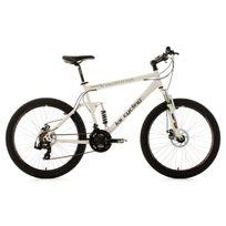 Ks Cycling - Vtt tout suspendu 26'' Insomnia blancTC 50 cm