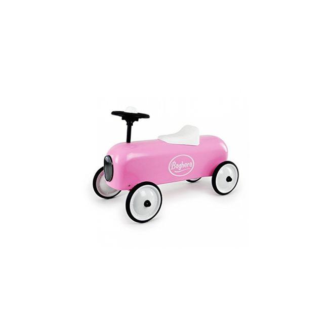 Baghera - Porteur Racer Rose - pas cher Achat   Vente Chevaux à bascule,  porteurs - RueDuCommerce 6583595b3d2