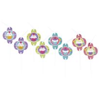 Amscan - 8 Pailles Flexibles Cupcake