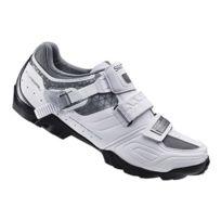 Shimano - Chaussures de cyclisme Wm64 Vtt blanc femme