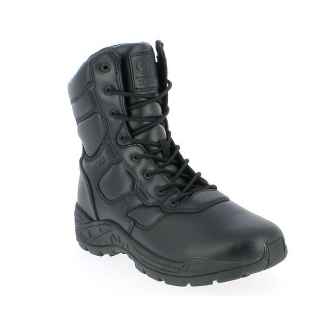 Gk Pro Chaussures d'intervention Field Cuir & zip