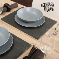 Atopoir Noir - Dessous-de-plat en Ardoise