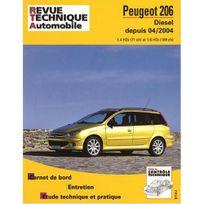 Topcar - Revue technique pour Peugeot 206 diesel 1.4 hdi 1.6 hdi 04-2004
