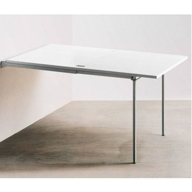 Inside 75 Table console extensible Pallo design blanche
