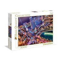 Clementoni - Puzzle 2000 pièces Las Vegas