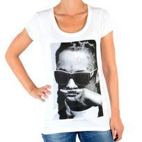 Eleven Paris - Tee Shirt Lily W Lil Wayne Blanc