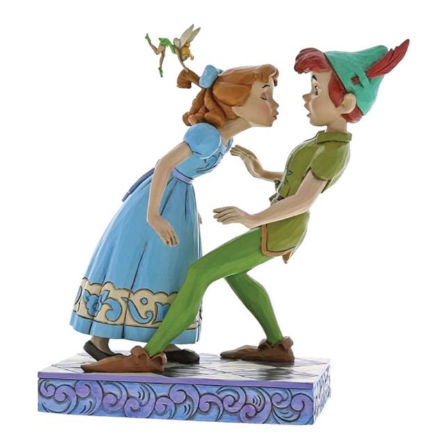 Disney Figurine de collection Peter Pan et Wendy