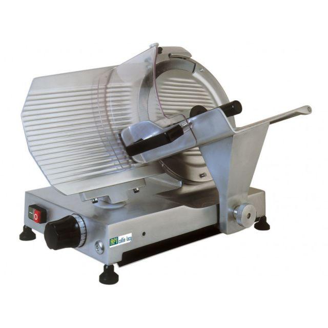 Materiel Chr Pro Trancheuse à Jambon Courroie - Série King - 300 à 350 mm - Afi Collin Lucy - 300 mm