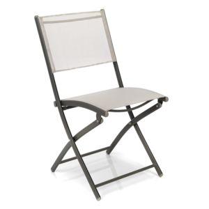 alin a lemon chaise de jardin pliante champagne pas cher achat vente chaises de jardin. Black Bedroom Furniture Sets. Home Design Ideas