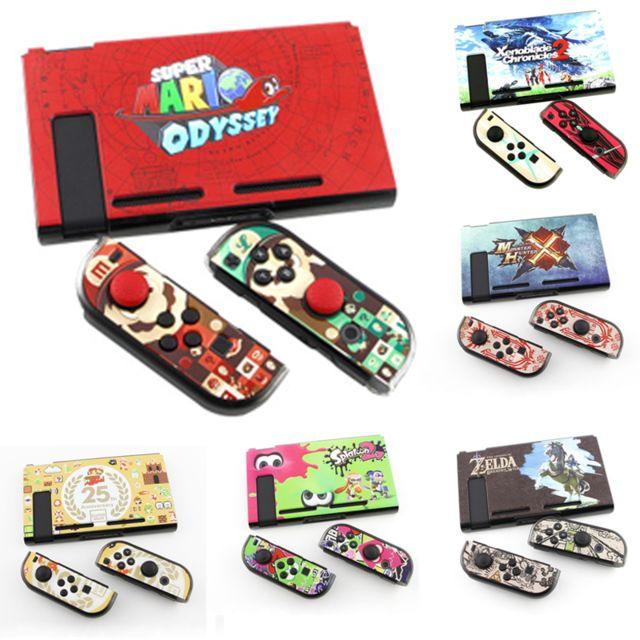 E-thinker - Modèle de thème de jeu unique Ns Case Case Controller Coque de protection pour Nintendo Switch-17