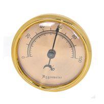 Angelo - Hygromètre analogique cave à cigare 75mm