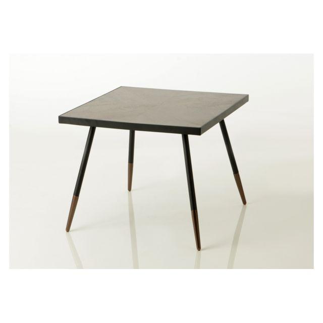 HELLIN Table basse carré Hoffman