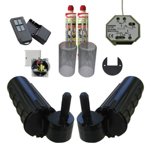 mantion smt pack motorisation pour volets 2 battants uranus radio gond 14 plus 1 kit. Black Bedroom Furniture Sets. Home Design Ideas