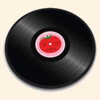 Joseph Joseph - Dessous De Plat Rond En Verre 30 Cm - Tomato Vinyl