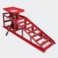 Aqua Occaz - Rampe de levage 2000 kg avec cric hydraulique pour garage