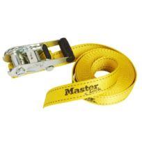 Master Lock - Sangle À Cliquet Jaune 600 Cm
