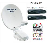 Antarion - Kit Antenne satellite Automatique 72 cm G6+ Twin