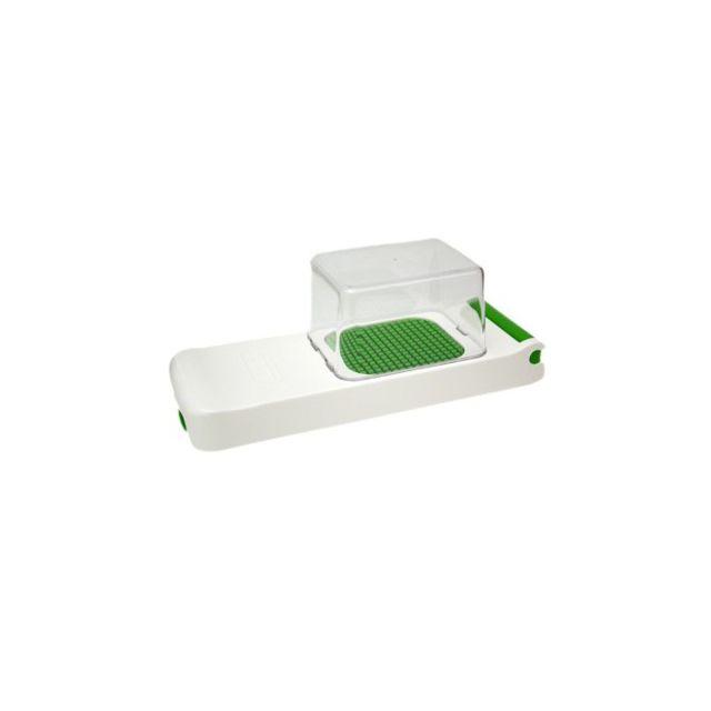 Alligator Coupe-légumes découpe 3mm + bac receveur