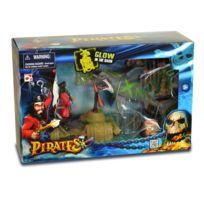 Chap Mei - Figurine pirate avec accessoires : Requin