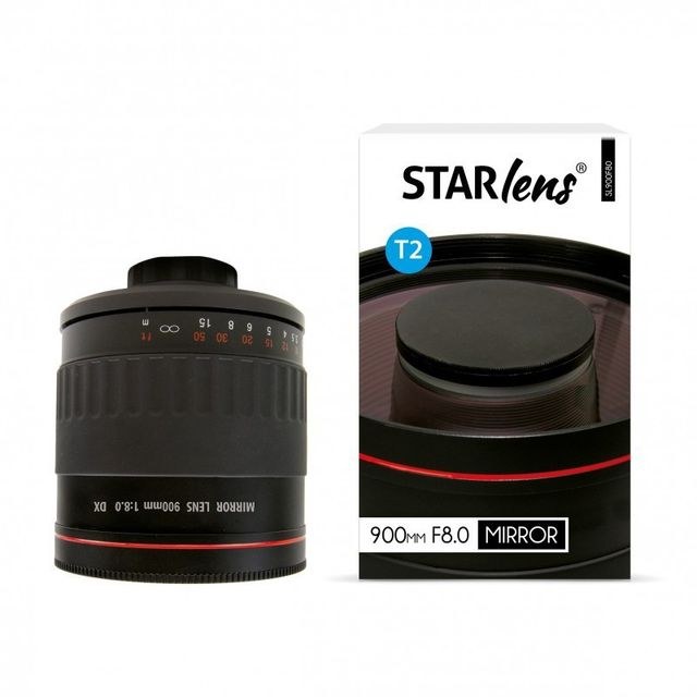 Starblitz StarLens Objectif catadioptrique 900mm F8 avec bague Sony 'A