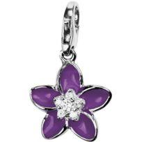 Pierre Lannier Bijoux - Promo Charm Pierre Lannier Jc99A104 - Charm Fleur Violet