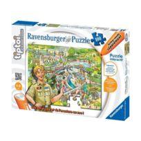 Tiptoi - Au Zoo Puzzle 100 pieces